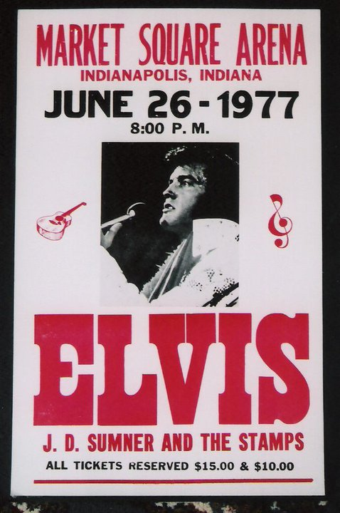 elvis in concert film 1977