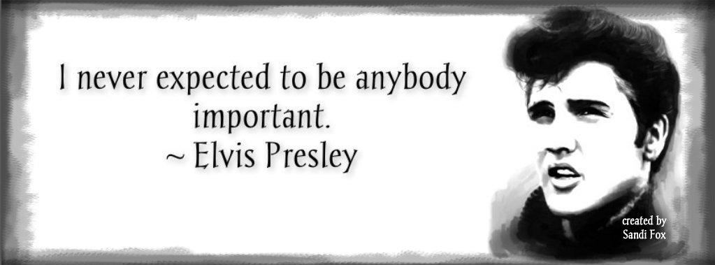 Brand New Elvis Presley Timeline Covers WwwIHeartElvisnet Beauteous Elvis Presley Quotes