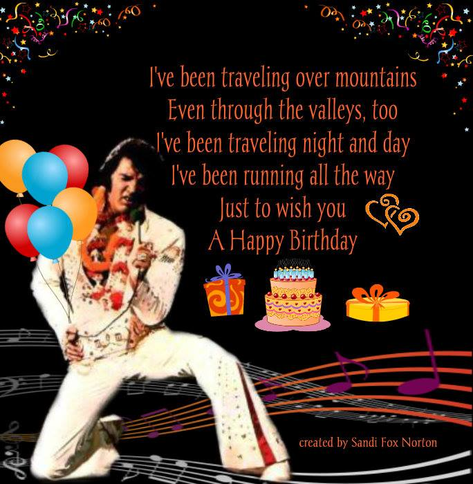 elvis presley virtual birthday cards  .iheartelvis, Birthday card