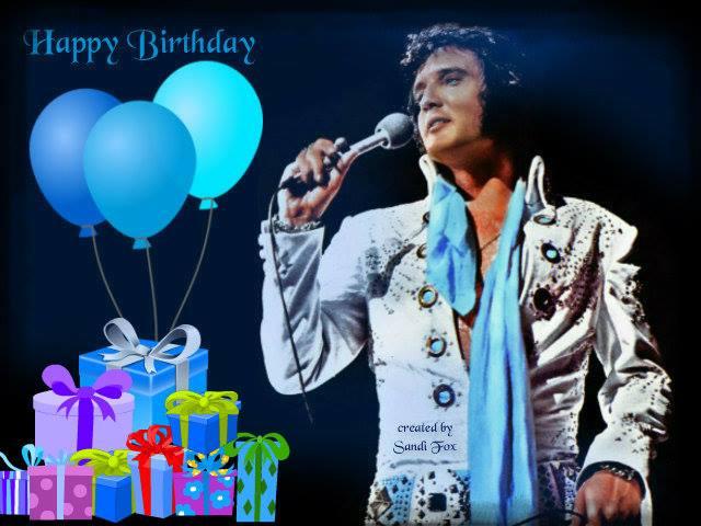Elvis Presley Virtual Birthday Cards Iheartelvis