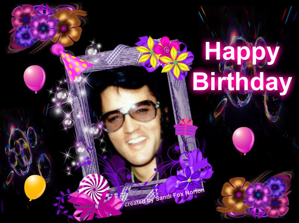 Elvis Presley Virtual Birthday Cards – Birthday Cards Photo Upload