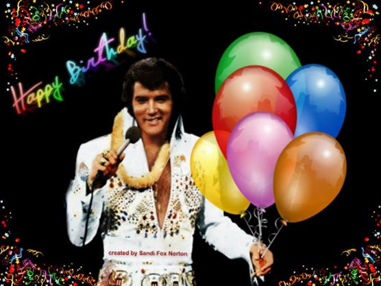 elvis presley virtual birthday cards  .iheartelvis, Greeting card